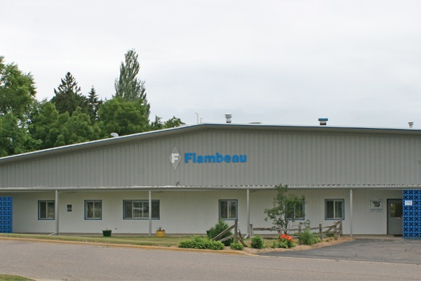 Flambeau's Blow Molding facility in Baraboo, Wisconsin