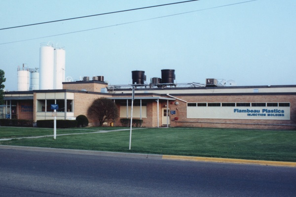 Flambeau's Injection Molding facility in Baraboo, Wisconsin