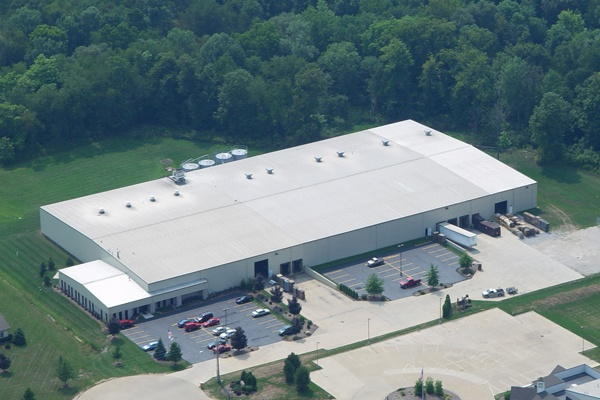 Flambeau's facility in Sharon Center, Ohio