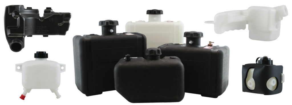 Examples of CARB/EPA approved Flambeau fuel tanks for recreational vehicles